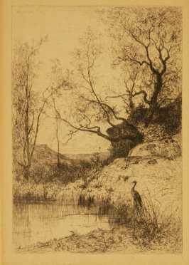 Adolphe Appian, original etching
