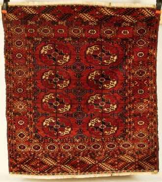 Tekke Bokhara scatter rug