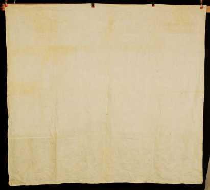 White Trapunto Quilt