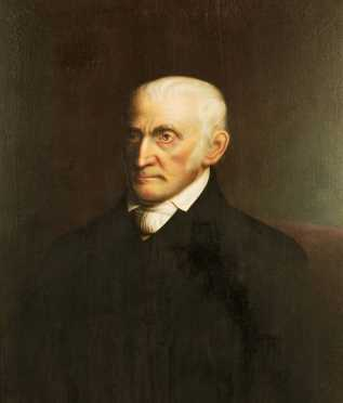 Nelson Cook(e), oil on  canvas painting of Harper Rogers