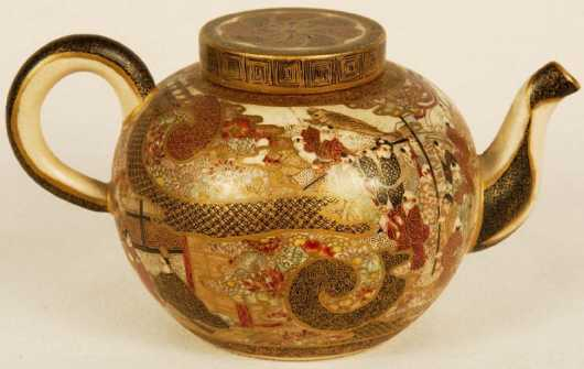Satsuma Miniature Teapot