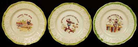 Creamware Plates