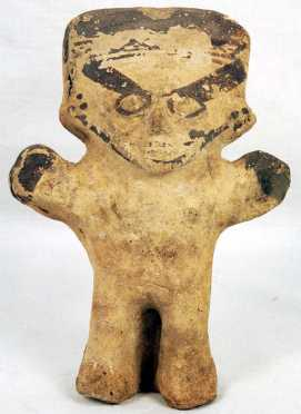 Chancay Cuchimilco Pre-Columbia Terracotta Female Figure