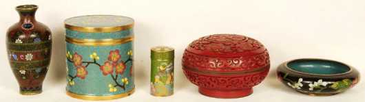 Five Chinese Objects: