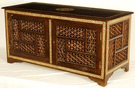 Indian/Persian Export Low Cabinet