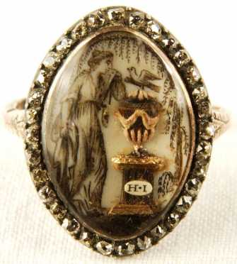 Two Antique Memorial Rings