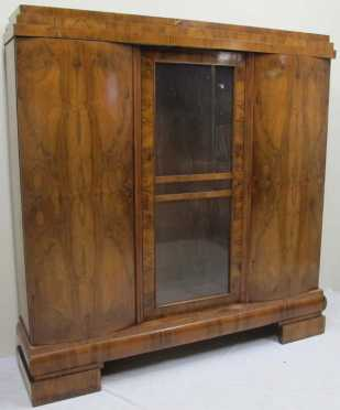 Rosewood Biedermiere Armoire