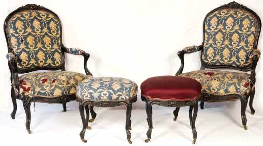 French Victorian Parlor Set