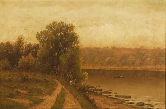 Charles Wilson Knapp, oil on canvas