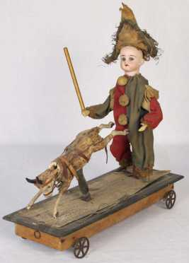 German 19th century Pull Toy
