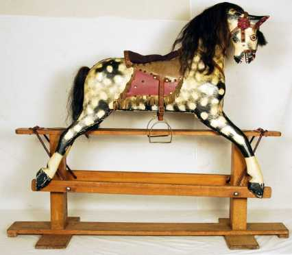 Early 20th Century Rocking Horse