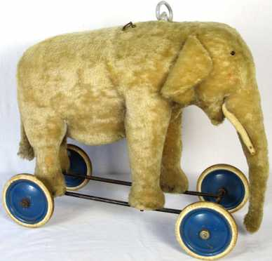 Steiff Elephant Riding Toy