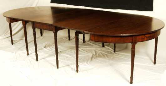 Sheraton Mahogany Banquet Table