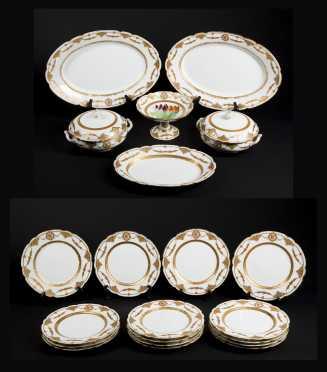 Partial Set of Paris Porcelain