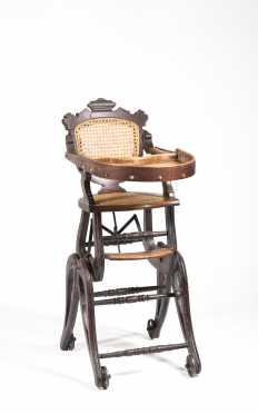 Victorian Adjustable High-Chair