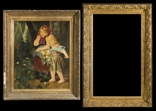 Quality Molded and gilded Picture Frame