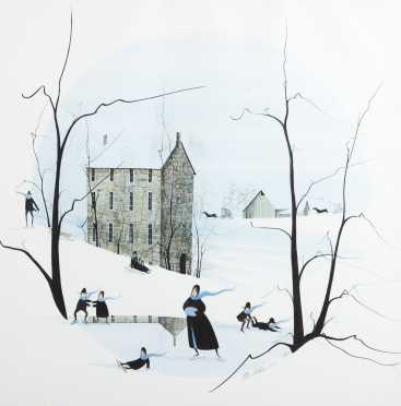 Limited Edition Print by Patricia Moss, Virginia, NY(b1933)