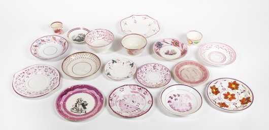 Lot of Pink Lustre Soft Paste