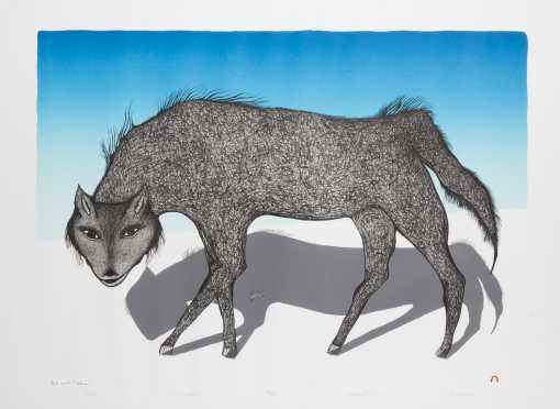 Inuit Pitaloosie Saila Lithograph