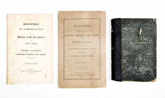 Daniel Webster/Rufus Choate-New Hampshire History--3 vols