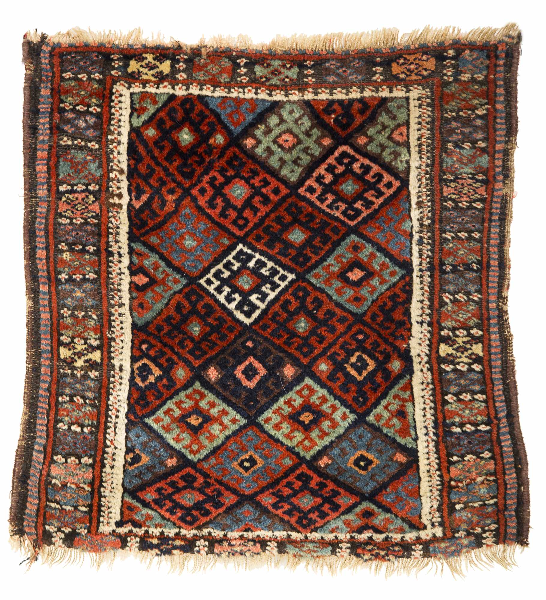 Four Small Oriental Rugs