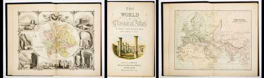 Johnston's Atlas. 'The World: A Classical Atlas'