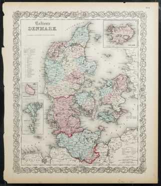 Colton's Denmark, 1855/1856