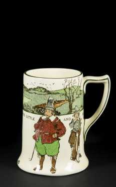 """""""Promise Little and Do Much"""" Golf Tankard"""