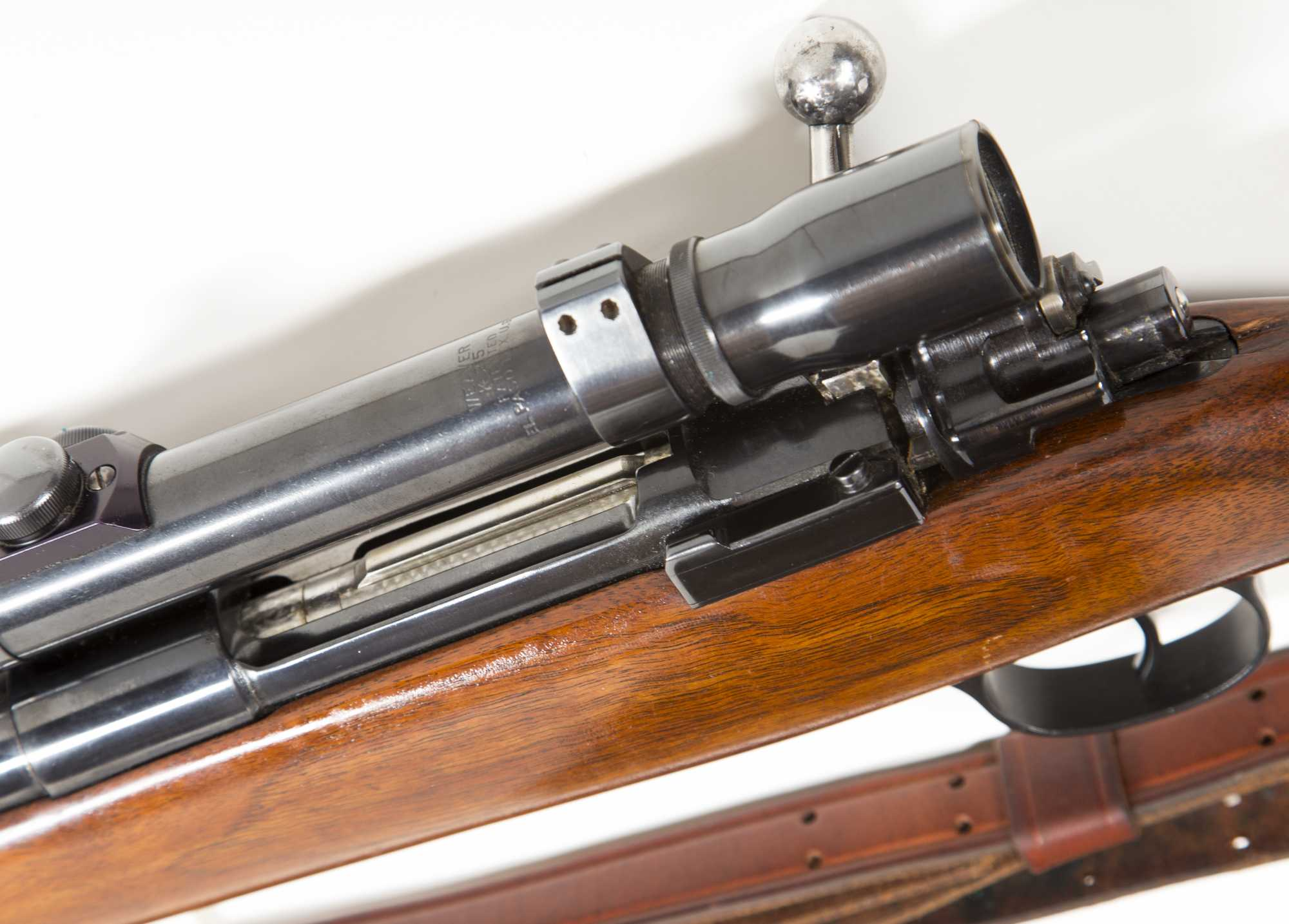 Custom Built 270 Winchester Bolt Action Rifle With Scope