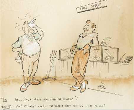 Toni Russo, 20thC American Cartoon