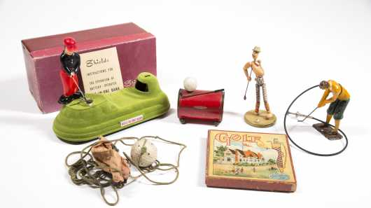 Lot of Golf Collectables