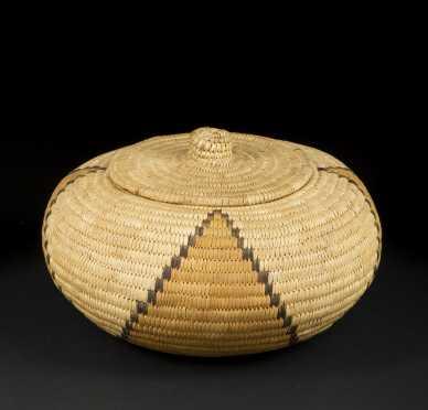 Northwest Coast Woven Basket