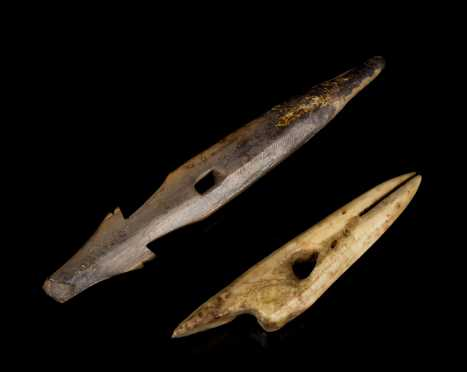 Inuit Two Precontact Spear Points