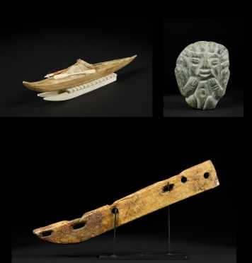 Three Inuit Carved Items