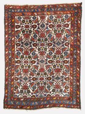 Hamadan Scatter Size Oriental Rug