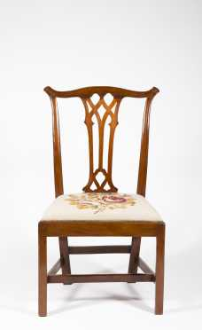 Pennsylvania Chippendale Mahogany Side Chair