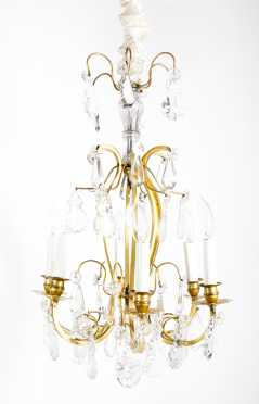 Baccarat Chandelier in the Louis XV Style AVAILABLE FOR $1200.00