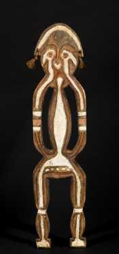 A fine Papuan Gulf Bioma figure