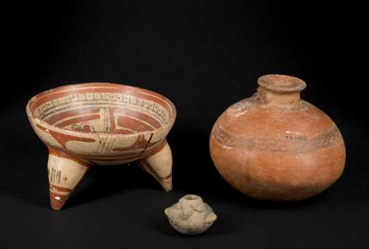 Three pre-Columbian Costa Rican Ceramics
