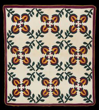 Vintage Applique Quilt