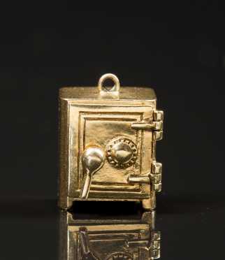 14kt. Gold Safe Charm