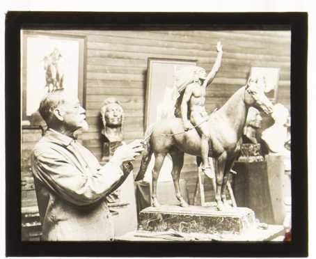 [Mormonism] Cyrus Edwin Dallin, American (1861-1944)
