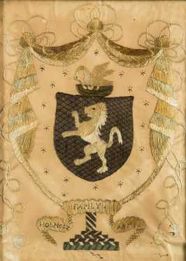 Needlework Family Coat of Arms