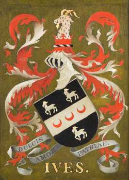 """Ives"" Armorial Painting"