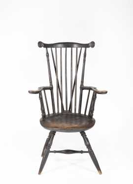 Nantucket Fanback Windsor Armchair