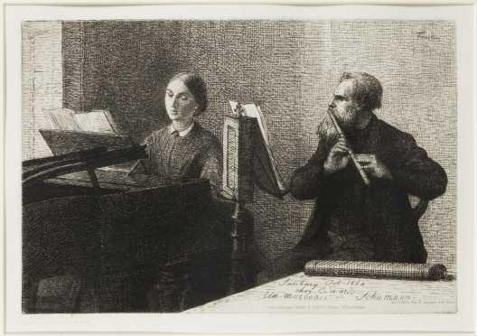 Henri Fantin Latour, French (1836- 1904)