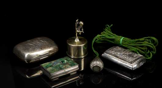 5 Silver Objects