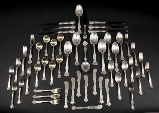 Partial Gorham Sterling Silver Service