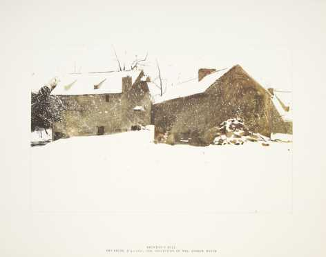 "Boxed set of of Andrew Wyeth ""Four Season"" Prints"