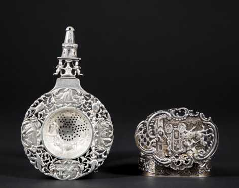 Antique English and Dutch Silver